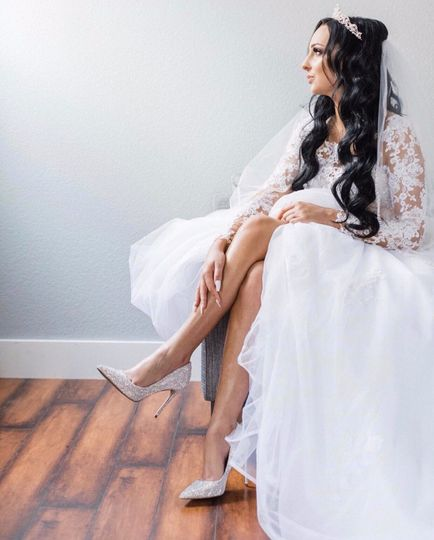 Elegabt bride