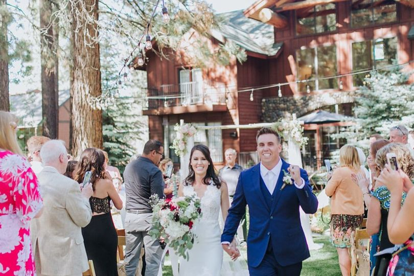 Black Bear Lodge - the newlyweds