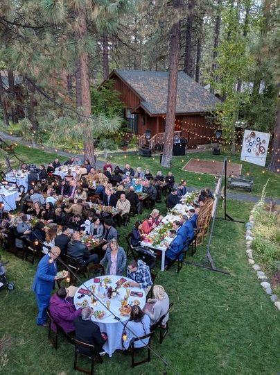 Black Bear Lodge - enjoying the outdoors