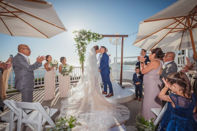Beautiful Beach Side Wedding