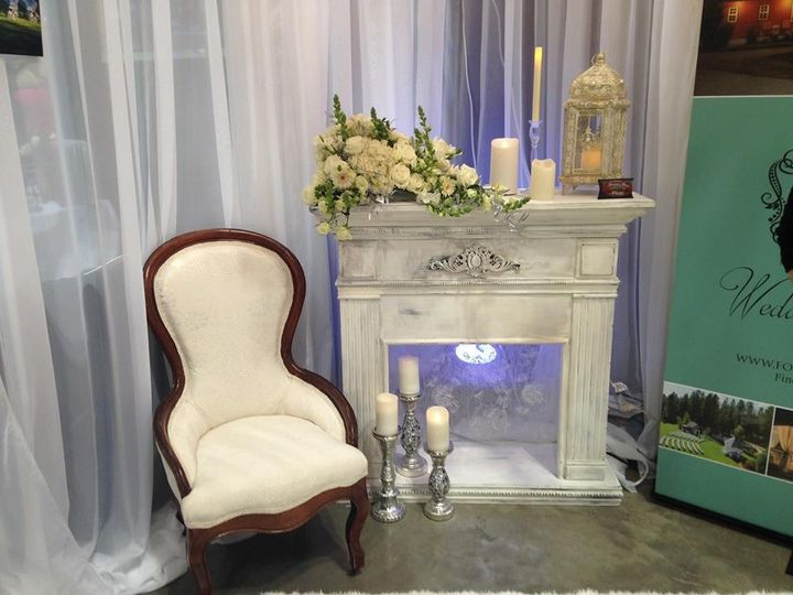 This chair was re-upholstered for Foxwood House Wedding Venue. You might of seen this at the big...