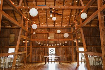 Wooden reception