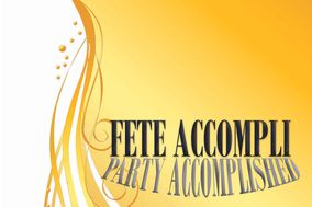 Fete Accompli Weddings