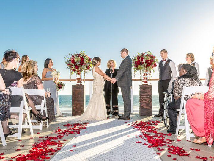 Tmx 1448053512008 Malibuwestbeachclubweddingceremony   Copy Malibu, CA wedding venue