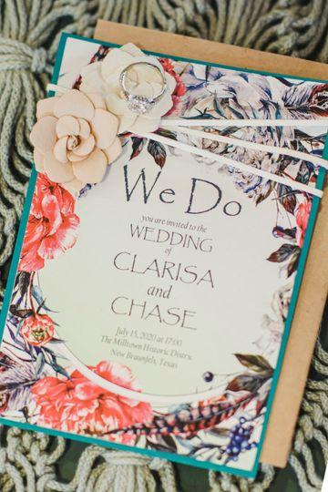 Invitation design and print