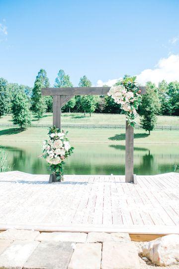 Upper pond wedding