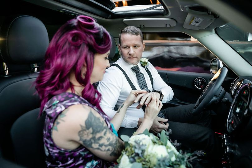 Exchange vows in your car!