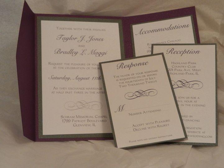 Tmx 1352768629676 2012092717.15.22 Glen Ellyn wedding invitation