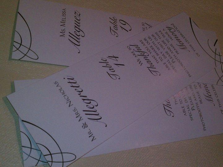 Tmx 1352769128268 IMAG0166 Glen Ellyn wedding invitation