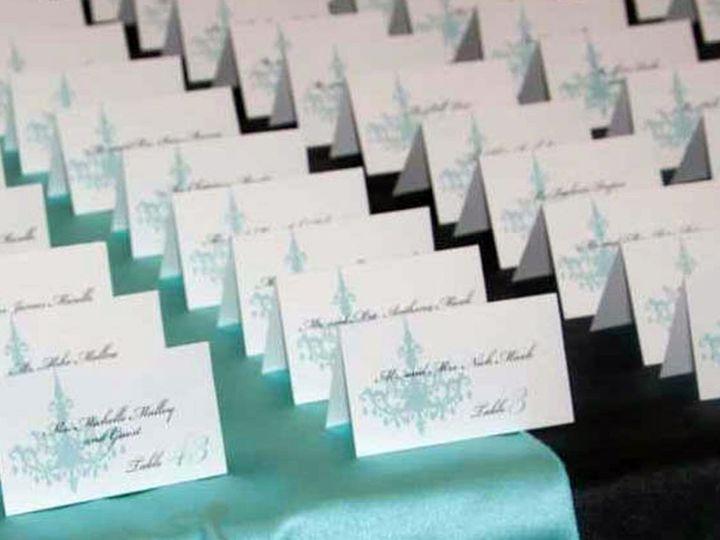 Tmx 1358170581579 TiffanyBluePlaceSetting5 Glen Ellyn wedding invitation