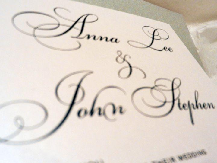 Tmx 1360162359183 BlueSilverCrystalInvitations Glen Ellyn wedding invitation