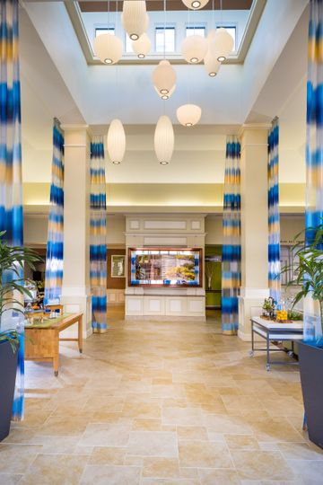 Interior view of the Hilton Garden Inn Innsbrook