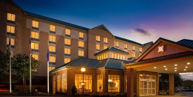 Exterior view of the Hilton Garden Inn Innsbrook