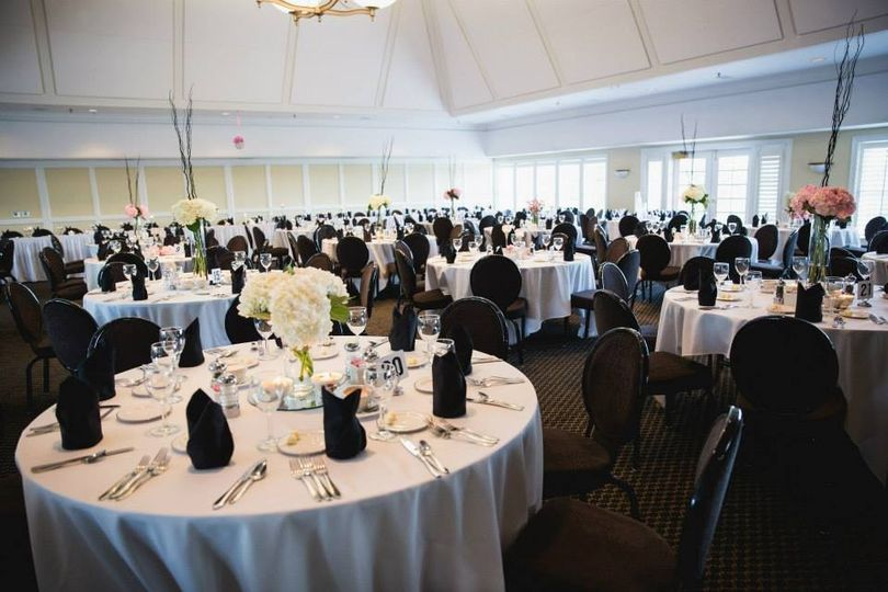 Our Ballroom sets a perfect scene for a classic wedding reception