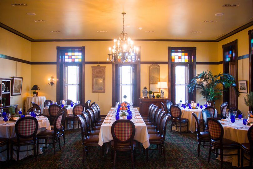 City View room set for dining