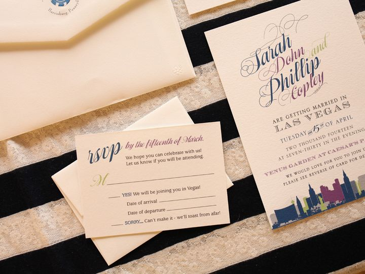 Tmx 1414097319581 Img0690 Melissa York, Pennsylvania wedding invitation