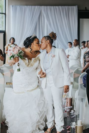 Newlyweds, Raven & Charise wed in Greenville, SC
