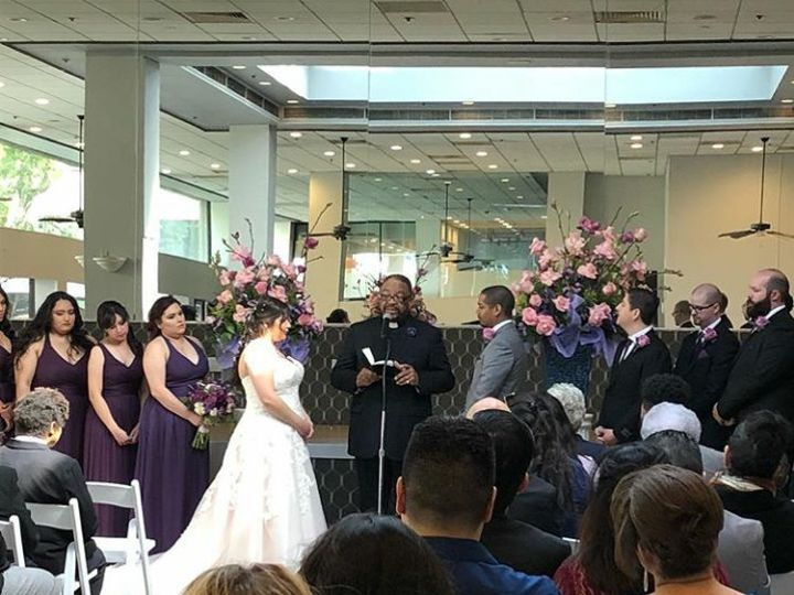 Tmx Atrium Ceremony Bride And Groom 51 997241 Whittier, CA wedding venue