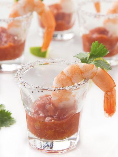 Shrimp cocktail shooter