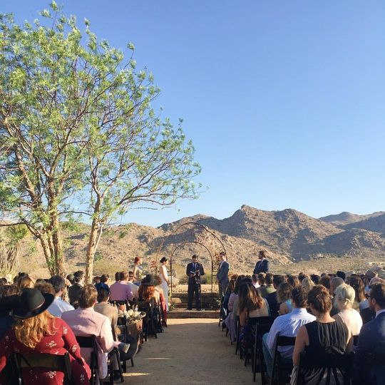 Sacred Sands Venue Joshua Tree Ca Weddingwire