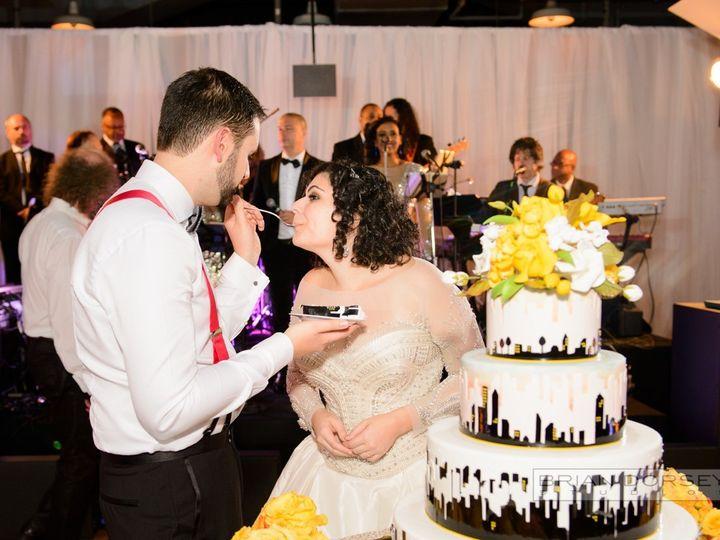 Tmx 1498184772878 0963ash With Bride  Groom Cake Brooklyn, New York wedding band