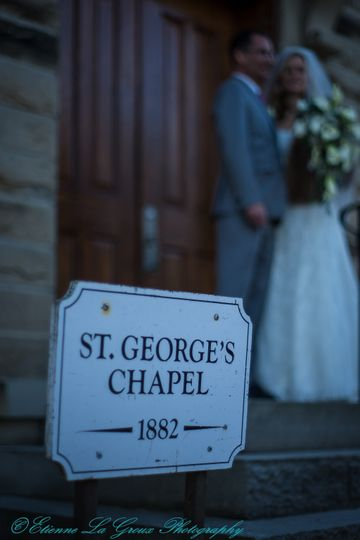 We going to the Chapel....