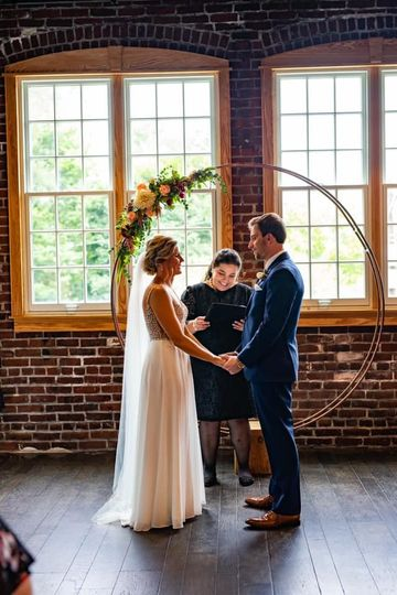 Ceremony at The Tinker House