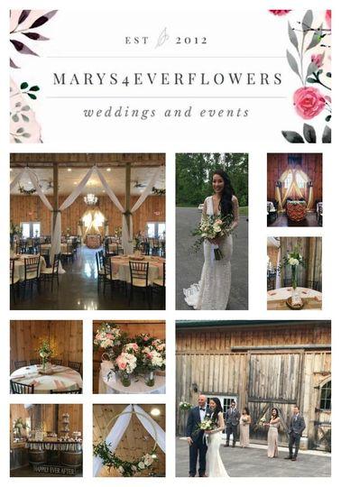 Wedding wolf Oak Acres- June 26 2018 - Wedding flowers decor and draping