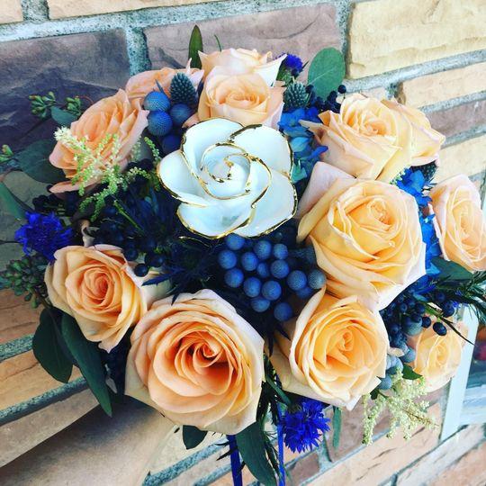 Custom Brides Bouquet