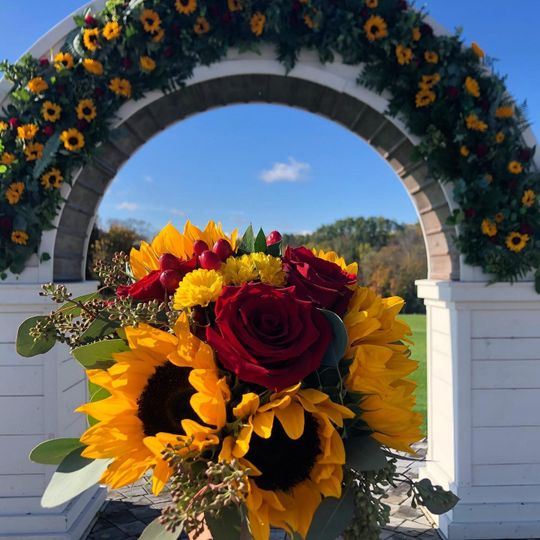 Hayloft On the Arch flowers