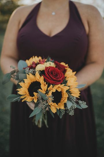 Brides maid bouquet