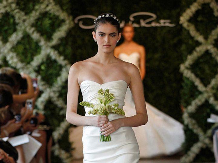 Tmx 1423602376784 Spring 2013 Oscar De La Renta Wedding Gown Nashville wedding dress