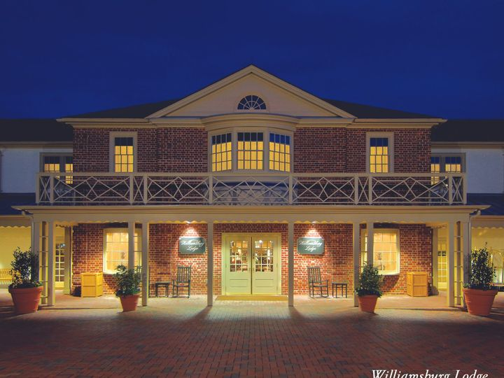 Tmx 1499887121615 Lodge Exterior Copy Williamsburg, VA wedding venue