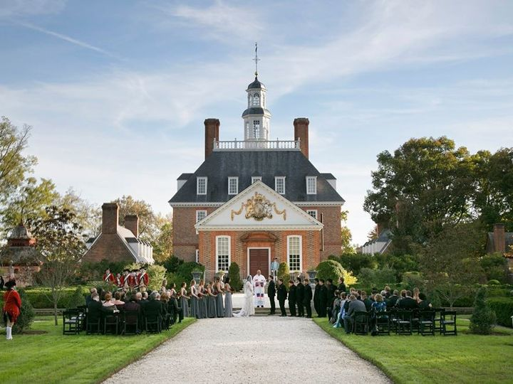 Tmx 1509632397598 Ceremony At The Palace Williamsburg, VA wedding venue