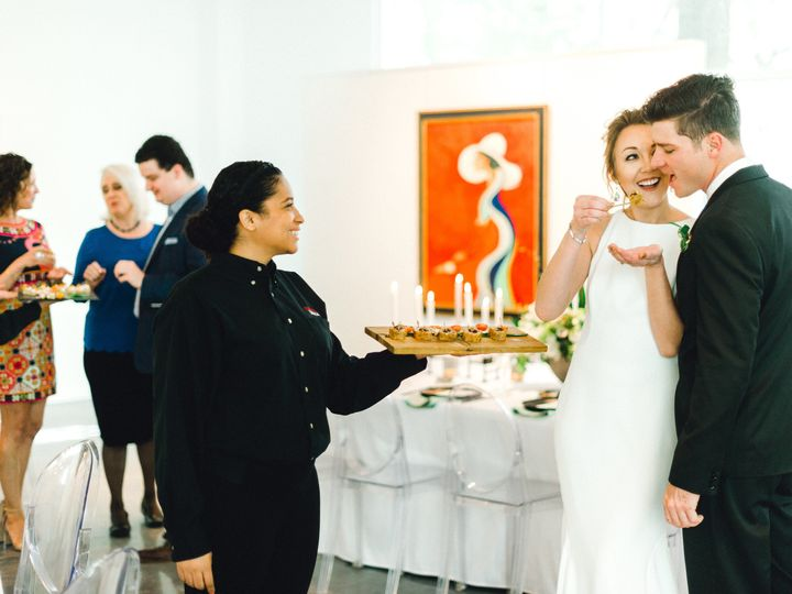 Tmx 1528391476 A9e8e0d3eb994911 1528391473 3d3645ec66115230 1528391467505 7 Tray Passing 2 Conroe, TX wedding catering