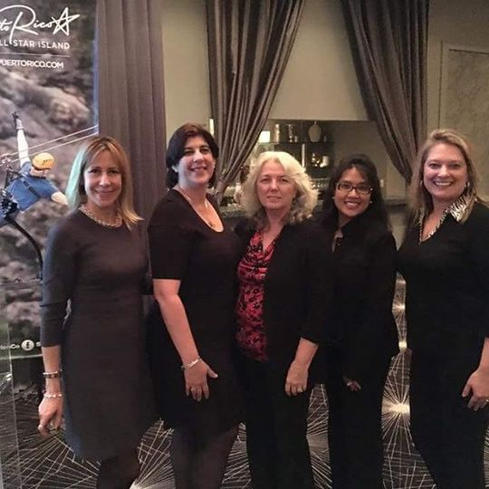 Attended the Puerto Rico Tourism seminar, Meet our Puerto Rico Experts (Me) in the center, Mira and...
