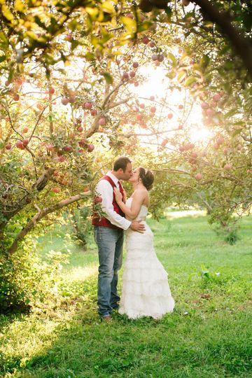 Orchard kiss