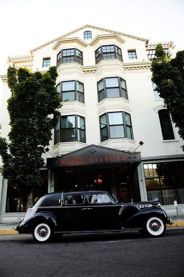 Exterior view of Hotel Diamond