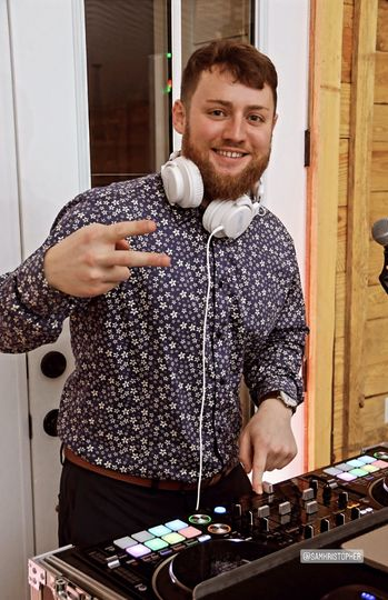 DJ and MC, Sam Warfield