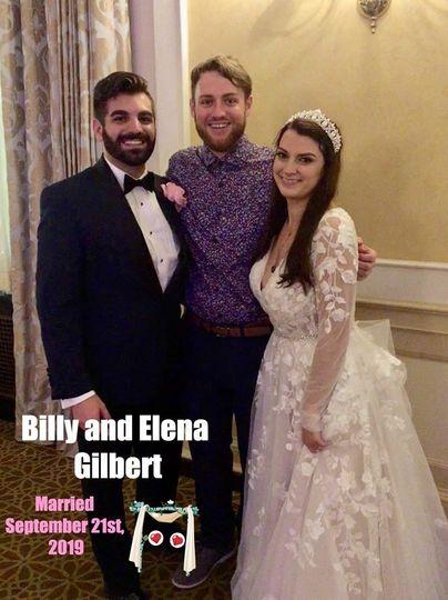 Billy and Elena Gilbert! 9.21.