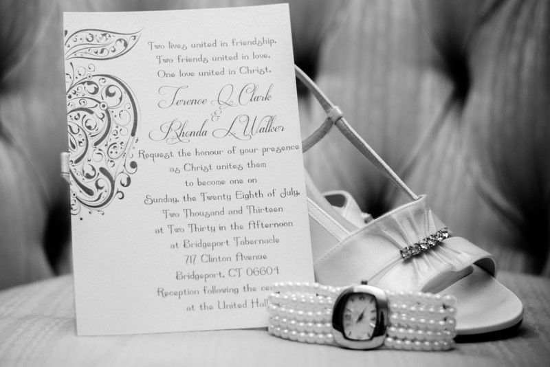 Wedding card and bridal accessories