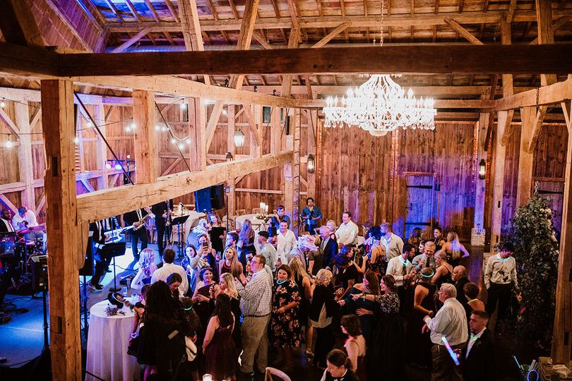 Packed dance floor!  photo by Endless Exposures at Beckendorff Farms