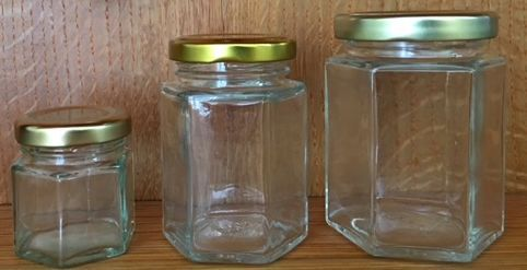 Empty jar sizes 1.5 oz, 4 oz, or 6 oz