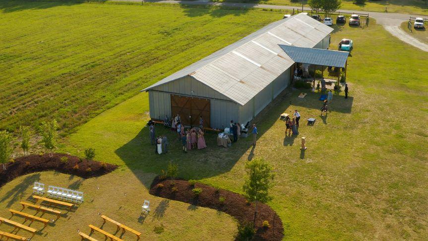 Burgaw Farms, NC - drone shot