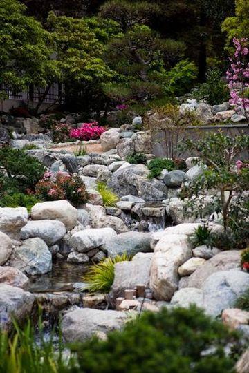 James Irvine Japanese Garden at JACCC Venue Los Angeles CA