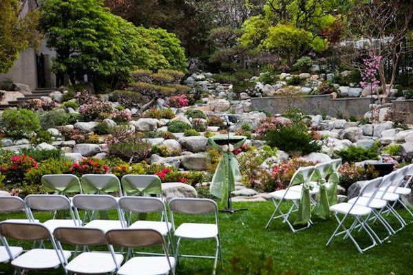 Ceremonies can take place on the grass at the lower end of the Garden or on the ceremony pavillion...