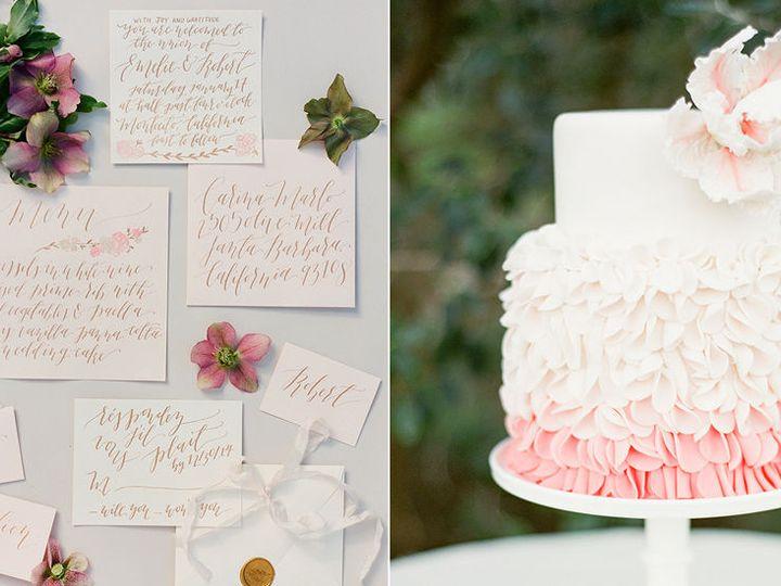 Tmx 1517887189 31dbd100293e5f5a 1517887188 F338e769003fa088 1517887178435 12 Cake15 Santa Barbara wedding cake