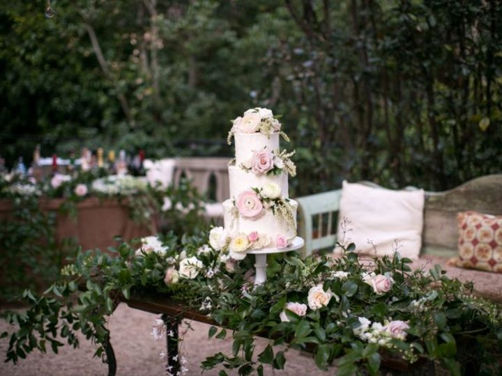Tmx 1517887369 6e7ad5753ead94c0 1517887368 8627b1928aa678cf 1517887362767 23 Miki   Sonja Phot Santa Barbara wedding cake