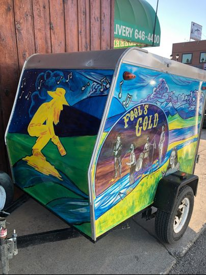 Fool's Gold Equipment trailer