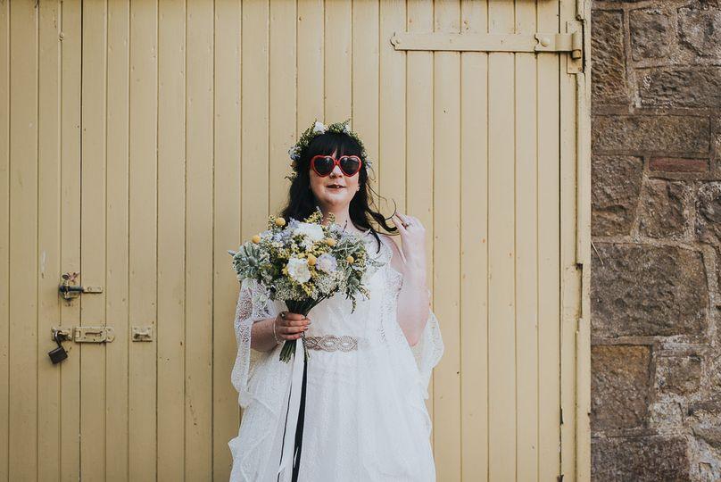 Wildflowers for a farm wedding